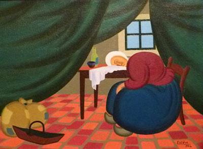sologne et berry la tapisserie au point veronique de luna. Black Bedroom Furniture Sets. Home Design Ideas